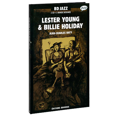 BD Series Volume 44 Lester Young, Billie Holiday 1936-1957 (2 CD) Серия: BD Series инфо 3876j.
